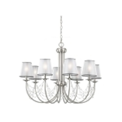 Feiss 8 - Light Aveline Mini Chandelier - F2920/8BS