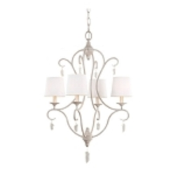 Feiss 4 - Light Caprice Chandelier - F2932/4CHKW