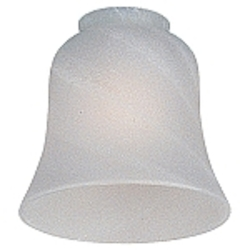 Monte Carlo Fan Series Opal Swirl Small Bell Glass - G826