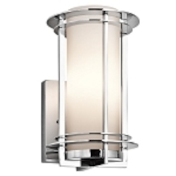 "Pacific Edge Collection 1-Light 10"" Marine Grade Stainless Steel Outdoor Wall Sconce 49344PSS316"
