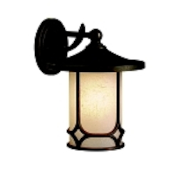 "Chicago Collection 1-Light 12"" Aged Bronze Outdoor Wall Sconce 9366AGZ"