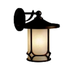 "Chicago Collection 1-Light 14"" Aged Bronze Outdoor Wall Sconce 9367AGZ"