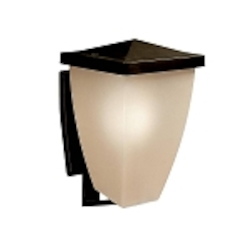 "Benton Collection 1-Light 18"" Olde Bronze Outdoor Wall Sconce 9430OZ"