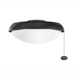 Climates Collection Satin Black Slim Profile Light Kit 380910SBK