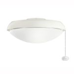 Climates Collection Satin Natural White Slim Profile Light Kit 380910SNW