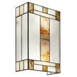 "Bryce Collection 8"" 2-Light Brushed Nickel Wall Sconce 69163"