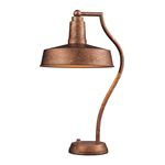 "Walden Collection 1-Light 22"" Bellwether Copper Table Lamp 65132-1"