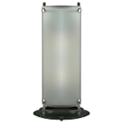 "Apex II 2-Light 23"" Modern Acid Frost Glass Table Lamp 98854"