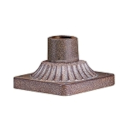 "Deco Collection 3"" Antique Bronze Pier Mount Fixture PM8680ABZ"