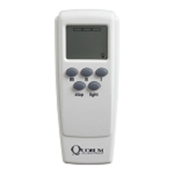 Quorum International Ceiling Fan Remote Control with Receiver and Light Dimmer Control 7-3000