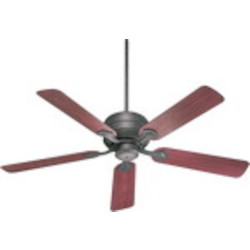 "Hanover Family 52"" Toasted Sienna Outdoor Ceiling Fan 129525-44"