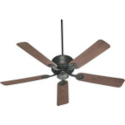 "Hanover Family 52"" Old World Outdoor Ceiling Fan 129525-95"