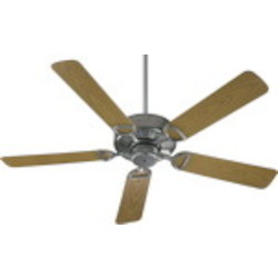 "Estate 52 Patio Family 52"" Galvanized Outdoor Ceiling Fan 143525-9"