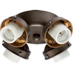 "Quorum International 2"" Oiled Bronze Light Kit 2401-8086"