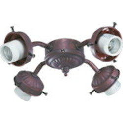 "Quorum International 3"" Cobblestone Light Kit 2444-8033"