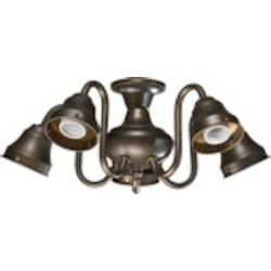 Quorum International Oiled Bronze Light Kit 2530-8086