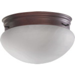 "Quorum International 9"" Cobblestone Flush Mount 3021-8-33"