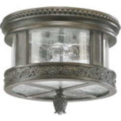 Dauphine Family 2-Light Etruscan Sienna Outdoor Flush Mount 3280-12-43