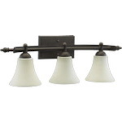 Aspen Family 3-Light Oiled Bronze Vanity 5077-3-86