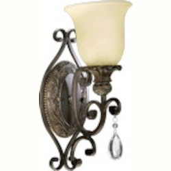 Fulton Family 1-Light Wall Sconce 5432-1-54