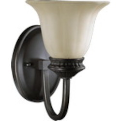 Hathaway Family 1-Light Old World Wall Sconce 5505-1-95