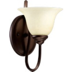 Spencer Family 1-Light Oiled Bronze Wall Sconce 5510-1-86