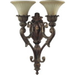 Madeleine Family 2-Light Corsican Gold Wall Sconce 5530-2-88