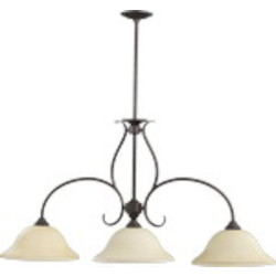 "Spencer Family 45"" Toasted Sienna Island Light 6510-3-44"