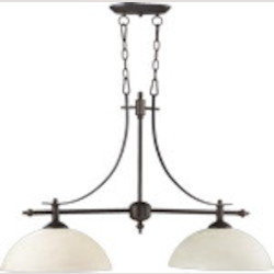 "Aspen Family 36"" Oiled Bronze Island Light 6577-2-86"