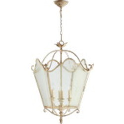 "Salento Series 4-Light 29"" Persian White Foyer Pendant 6906-4-70"