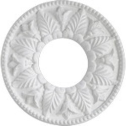 "Quorum International Family 10"" Studio White Ceiling Medallion 7-2600-8"
