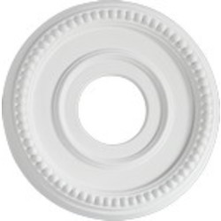 "Quorum International Family 12"" Studio White Ceiling Medallion 7-2601-8"