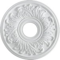 "Quorum International Family 16"" Studio White Ceiling Medallion 7-2603-8"