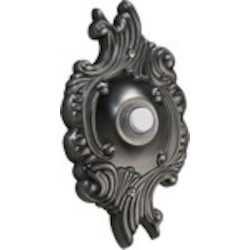 Quorum International Antique Silver Door Chime Button 7-309-92