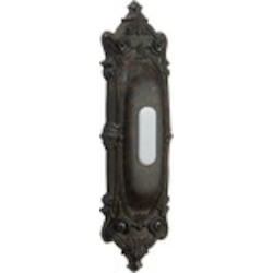 Quorum International Toasted Sienna Door Chime Button 7-310-44