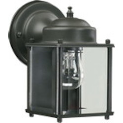 Lantern Family 1-Light Bronze Outdoor Lantern 700-36