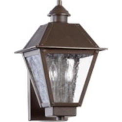 Emile Family 2-Light Oiled Bronze Outdoor Wall Mount 7024-2-86