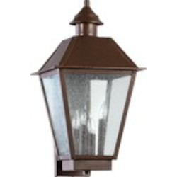 Emile Family 4-Light Oiled Bronze Outdoor Wall Mount 7024-4-86