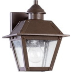 Emile Family 1-Light Oiled Bronze Outdoor Wall Mount 7024-86