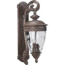 "Georgia Family 4-Light 30"" Etruscan Sienna Outdoor Wall Lantern 7400-4-43"