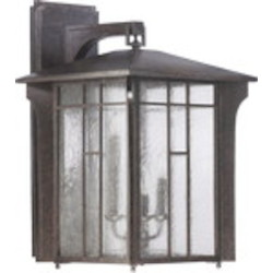 Arts & Crafts Family 4-Light Baltic Granite Outdoor Lantern 7500-4-45