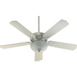"Capri III Family 52"" Studio White Ceiling Fan with Light Kit 77525-9208"