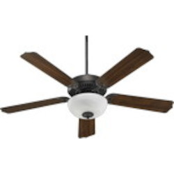"Capri III Family 52"" Toasted Sienna Ceiling Fan with Light Kit 77525-9244"