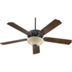 "Capri III Family 52"" Toasted Sienna Ceiling Fan with Light Kit 77525-9444"