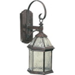 Weston Family 1-Light Baltic Granite Outdoor Wall Lantern 7817-1-45