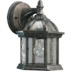 Weston Family 1-Light Timberland Granite Outdoor Wall Lantern 7817-25