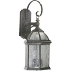 Weston Family 3-Light Baltic Granite Outdoor Wall Lantern 7817-3-45