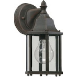 Quorum International 1-Light Rust Outdoor Lantern 786-5