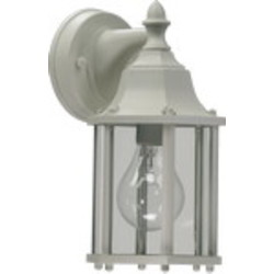 Quorum International 1-Light White Outdoor Lantern 786-6