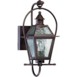 French Quarter Family 1-Light Oiled Bronze Outdoor Lantern 7919-1-86